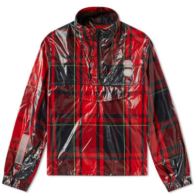 5a9a0c95ffc4 Off-White Checked Diagonals Anorak ...