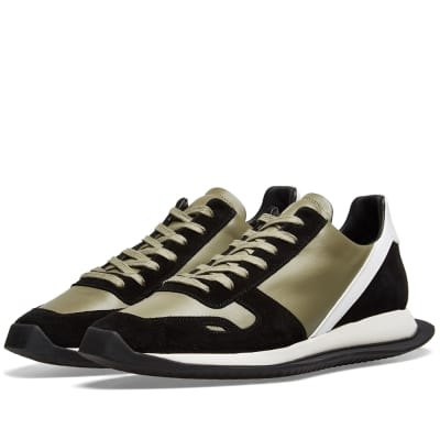 outlet store 7fc6f 5710b Rick Owens Vintage Leather Runner ...