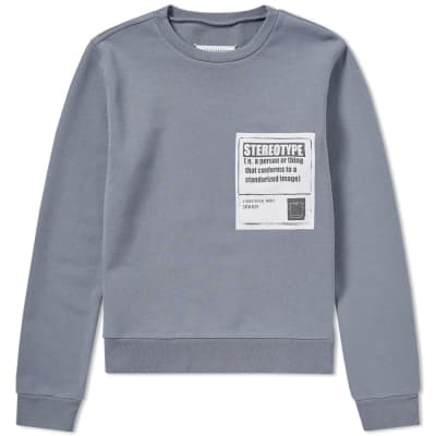 Maison Margiela 10 Stereotype Crew Sweat