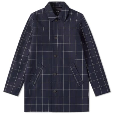 A.P.C. Astaire Check Mac