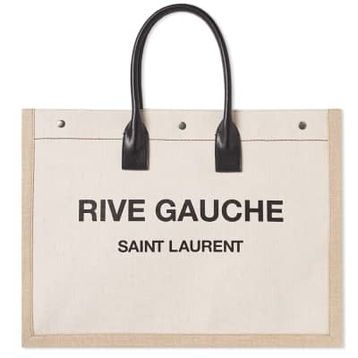 75e082f210b6 Saint Laurent Rive Gauche Large Tote Bag ...