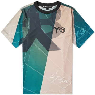 fb6acfd3e03d4 Y-3 All Over Print Football Shirt ...