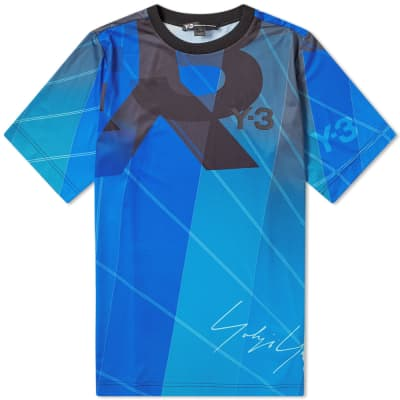82726f10a27 Y-3 All Over Print Football Shirt ...
