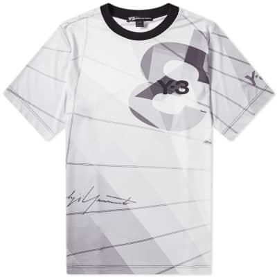 9bcd5a554508 Y-3 All Over Print Football Shirt ...