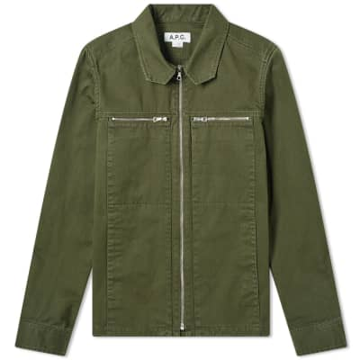 a4bf94f17b5 A.P.C. x Michael Kopelman Harrington Jacket ...