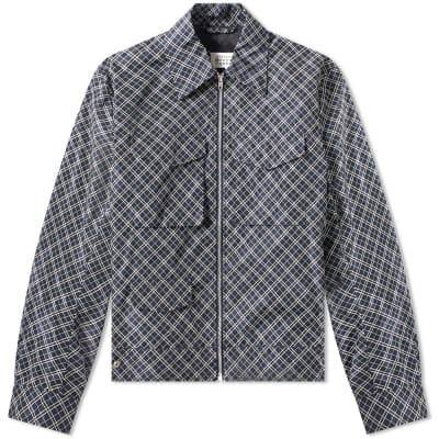 1924ef3baa72dc Maison Margiela 10 Check Nylon Zip Jacket ...