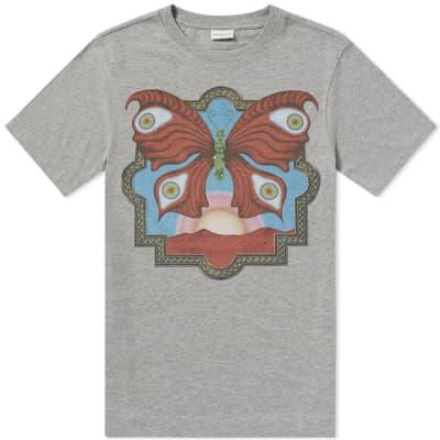 Dries Van Noten Butterfly Print Tee