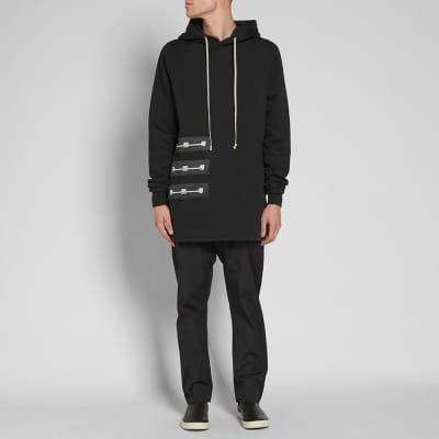 Rick Owens DRKSHDW Pullover Patch Hoody