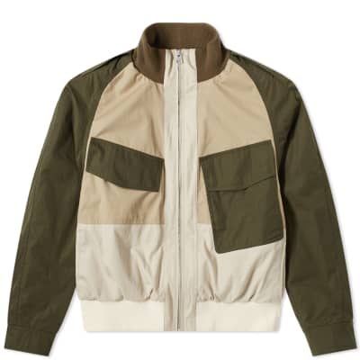 JW Anderson Colour Block Bomber Jacket
