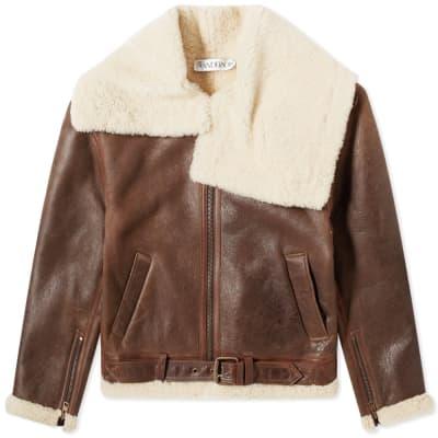 JW Anderson Shearling Flight Jacket