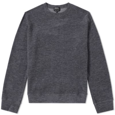 A.P.C. Bobby Mix Crew Sweat