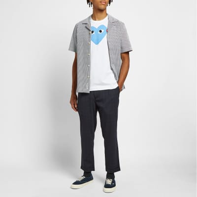 Comme des Garcons Play Red Heart Colour Heart Tee