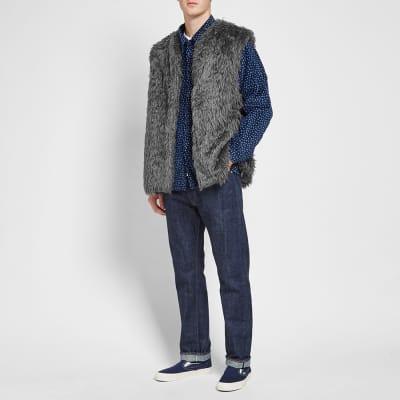 Needles Acrylic Fur Vest