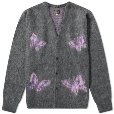 Needles Papillon Mohair Cardigan