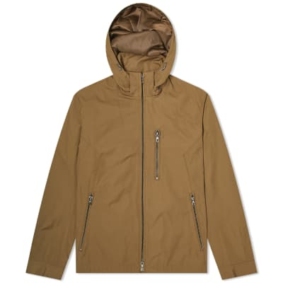Edifice Memory Twill Stand Hooded Jacket