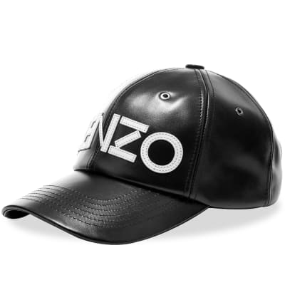 Kenzo Leather Tiger Cap