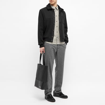 Oliver Spencer Foxham Shearling Collar Jacket