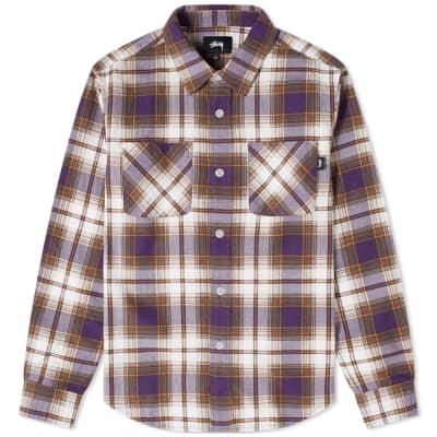 Stussy Adam Plaid Shirt