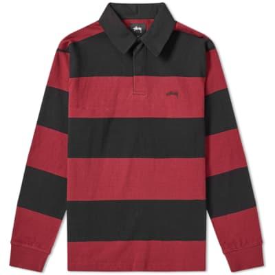 Stussy Ralphie Stripe Rugby Shirt ... c6f617dda