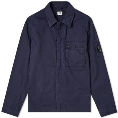 Cp Company Funnel Neck Watch-viewer Lens Zip Up Navy Men's Clothing Clothes, Shoes & Accessories