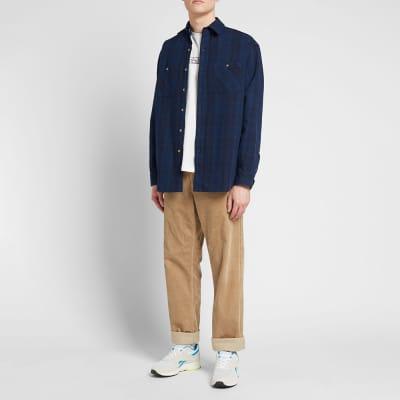 Kinfolk Hunters Point Plaid Flannel Shirt