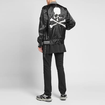 e0e01b5887e1 MASTERMIND WORLD Nylon Skull Varsity Jacket MASTERMIND WORLD Nylon Skull  Varsity Jacket
