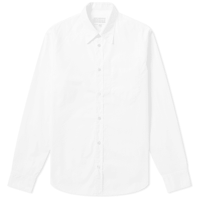 687c92611 Maison Margiela 10 Garment Dyed Poplin Shirt ...