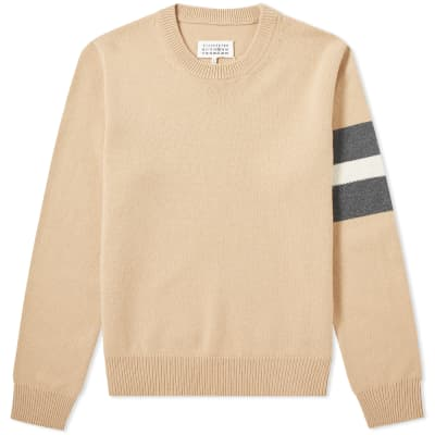 huge selection of 72530 28644 Maison Margiela 14 Arm Stripe Crew Knit ...