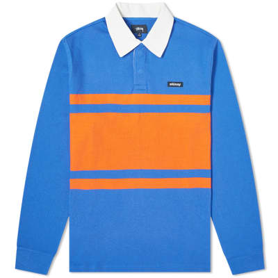 153e5bba9a26e4 Stussy Long Sleeve Stanley Rugby Shirt ...