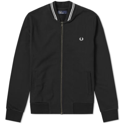 Fred Perry Bomber Neck Zip Sweat