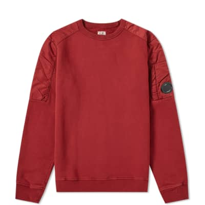 C.P. Company Undersixteen Chrome Arm Lens Crew Sweat