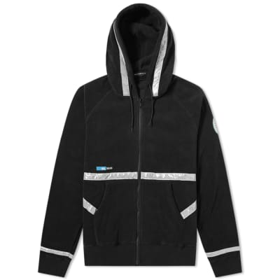 Undercover Polar Fleece Space Zip Hoody