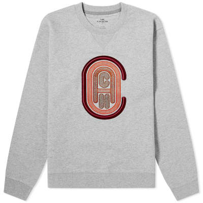 Coach Retro Logo Crew Sweat