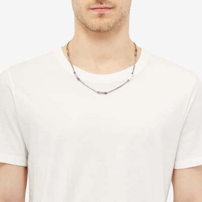 M. Cohen Chain Id Multi Tag Necklace