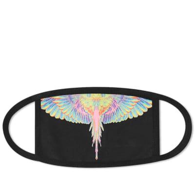 Marcelo Burlon Fluo Wings Mask