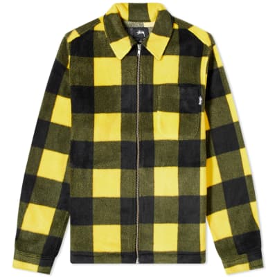 Stussy Polar Fleece Zip Shirt