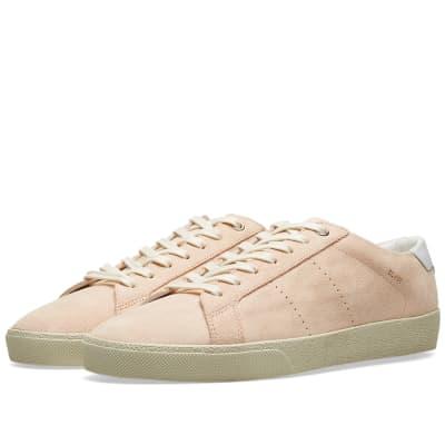 6cd8b4b99862 Saint Laurent SL-06 Court Classic Suede Sneaker ...