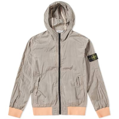 Stone Island Nylon Metal Watro Hooded Jacket