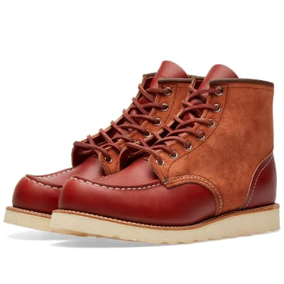 "Red Wing 8819 Heritage Work 6"" Moc Toe Boot"