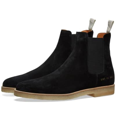 Common Projects Suede Chelsea Boot