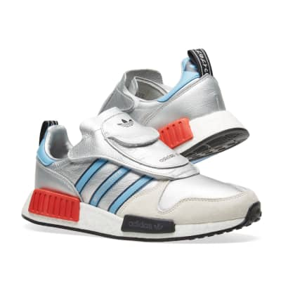53d81b8ba18e7 Adidas MICROPACERxR1 Adidas MICROPACERxR1 · Adidas MICROPACERxR1 Metallic  Silver   White