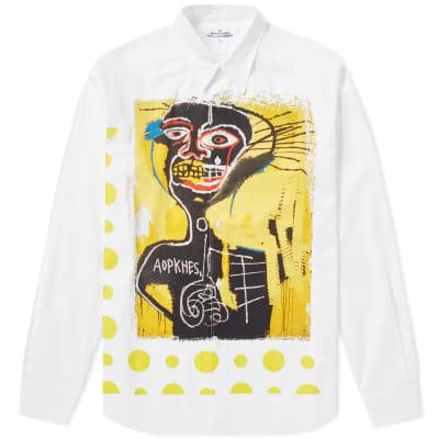 Comme des Garcons SHIRT x Jean-Michel Basquiat Herringbone Shirt