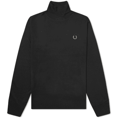 Fred Perry x Miles Kane Roll Neck Knit