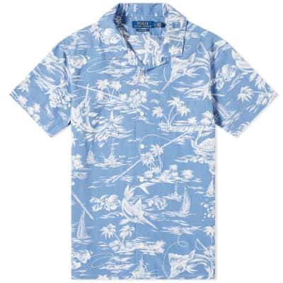 Polo Ralph Lauren Hawaiian Print Vacation Shirt