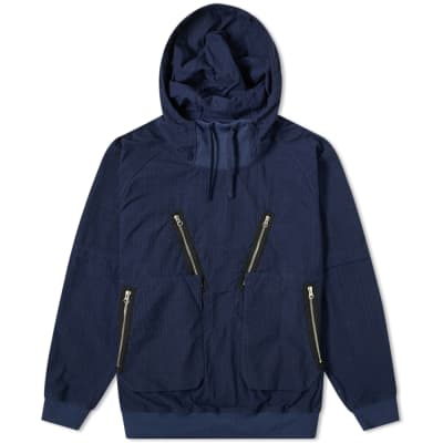 Stone Island Shadow Project Naslan Ripstop Popover Hooded Jacket