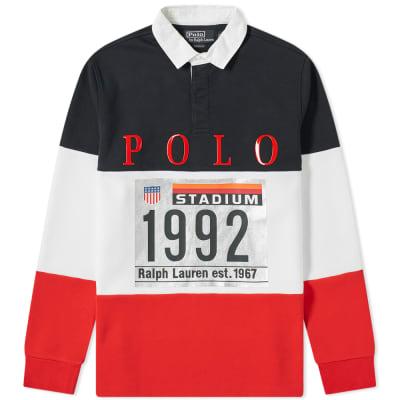 c22c903de5b54 Polo Ralph Lauren Rugby Knit ...