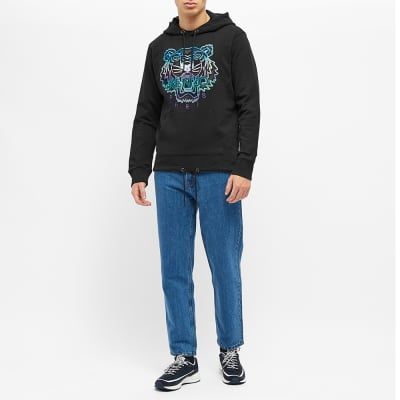 Kenzo Embroidered Tiger Hoody