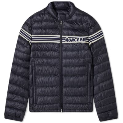 Moncler Renald Knit Insert Down Jacket