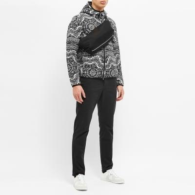 Moncler Reversible Zois Bandana Print Down Jacket