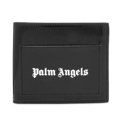 Palm Angels Logo Billfold Wallet